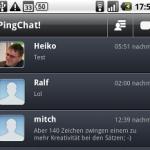 PingChat - Übersicht