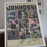 Johnossi Tour Plakat, signiert